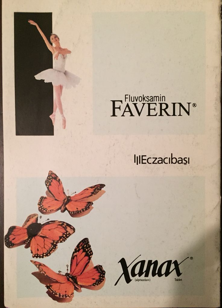 Faverin , Xanax Ad