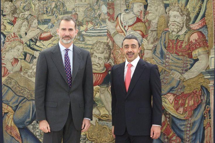 Foro Hispanico de Opiniones sobre la Realeza: Audiencia del Rey al Ministro de Asuntos Exteriores y de Cooperación Internacional del Estado de los