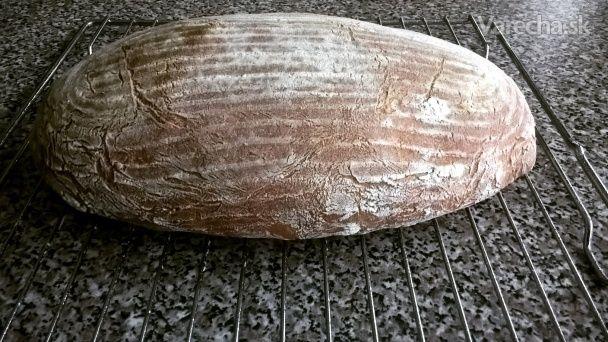 Kváskový pšenično-ražný chlieb (fotorecept)