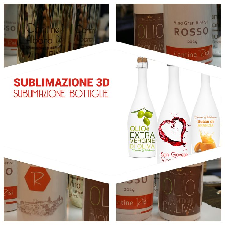 Dalla teoria alla pratica basta un attimo. Stampa le tue bottiglie con la #sublimazione di www.risibox.it