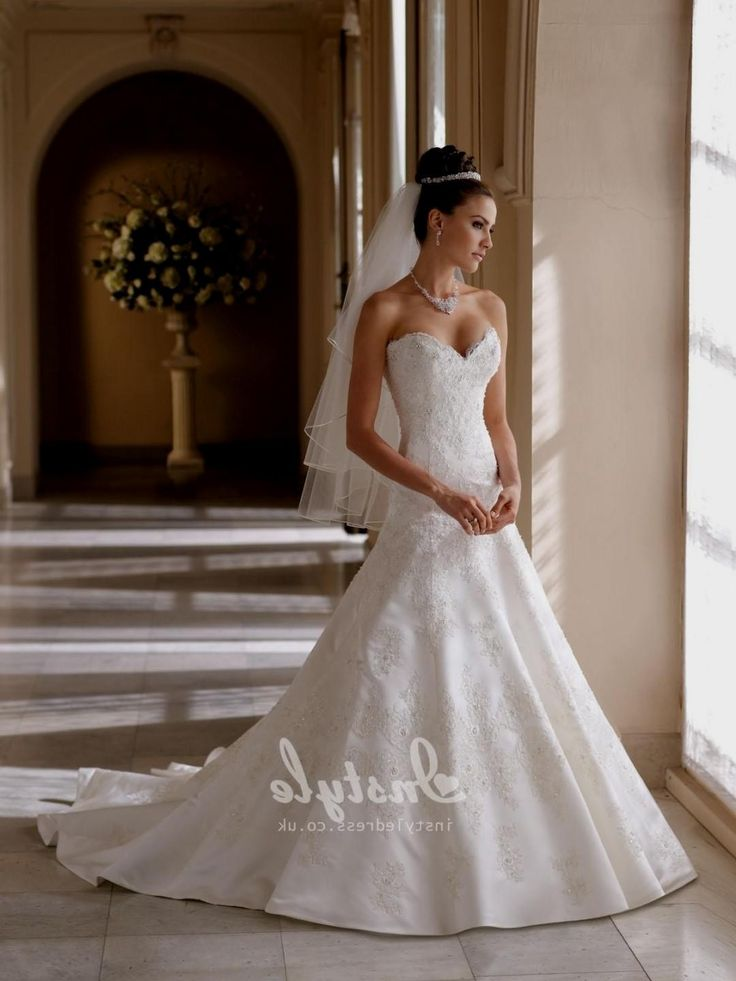 wedding dresses sweetheart neckline princess ball gown ... - photo#38
