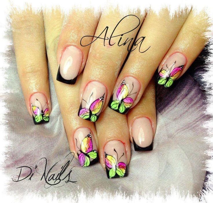 134 Best JJSisters Butterfly Nail Designs Images On