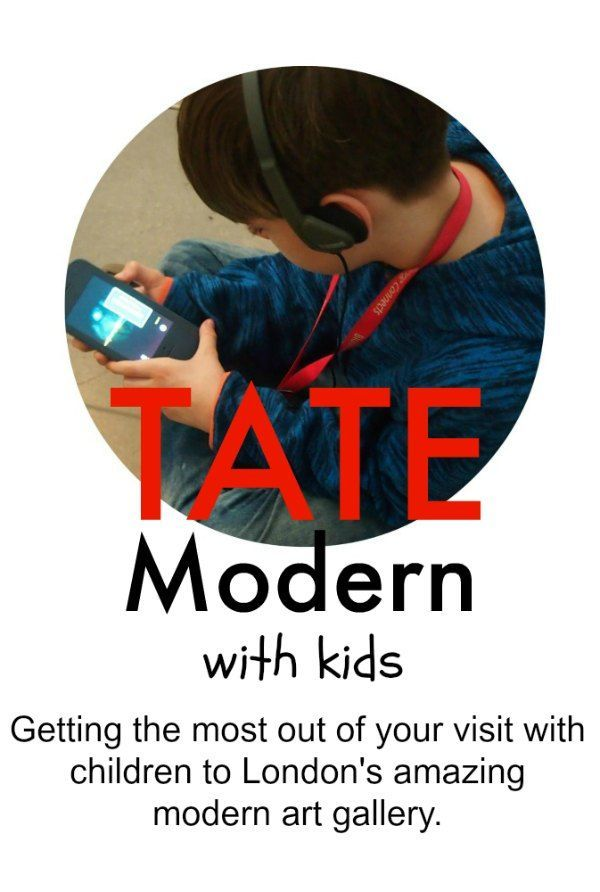 Tate Modern London with kids. We gave it a go, is it possible for children to enjoy a visit to a modern art gallery and learn something at the same time? Of course!