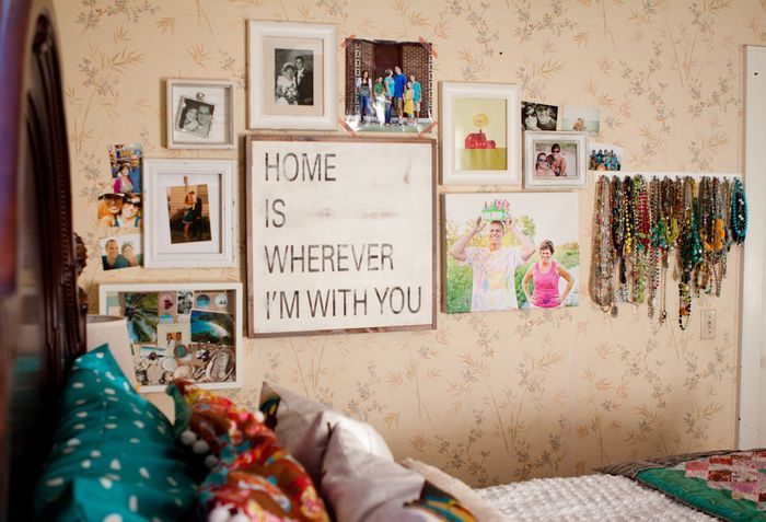 Home is wherever I'm with you. <3