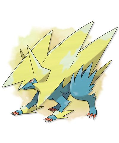 MEGA MANETRIC. Type: ELECTRIC. Ability: Intimidate. Mega Stone Location: Route 16 - Postgame - X Only.