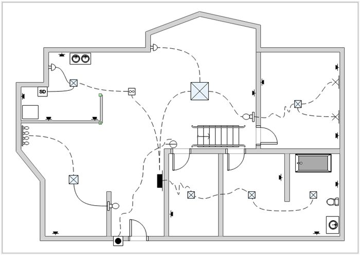 Wiring Diagram For House, http://bookingritzcarlton.info