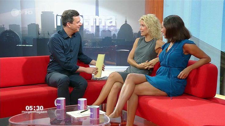Jana Pareigis (und Annika Zimmermann) | TV Presenters | Tv ...