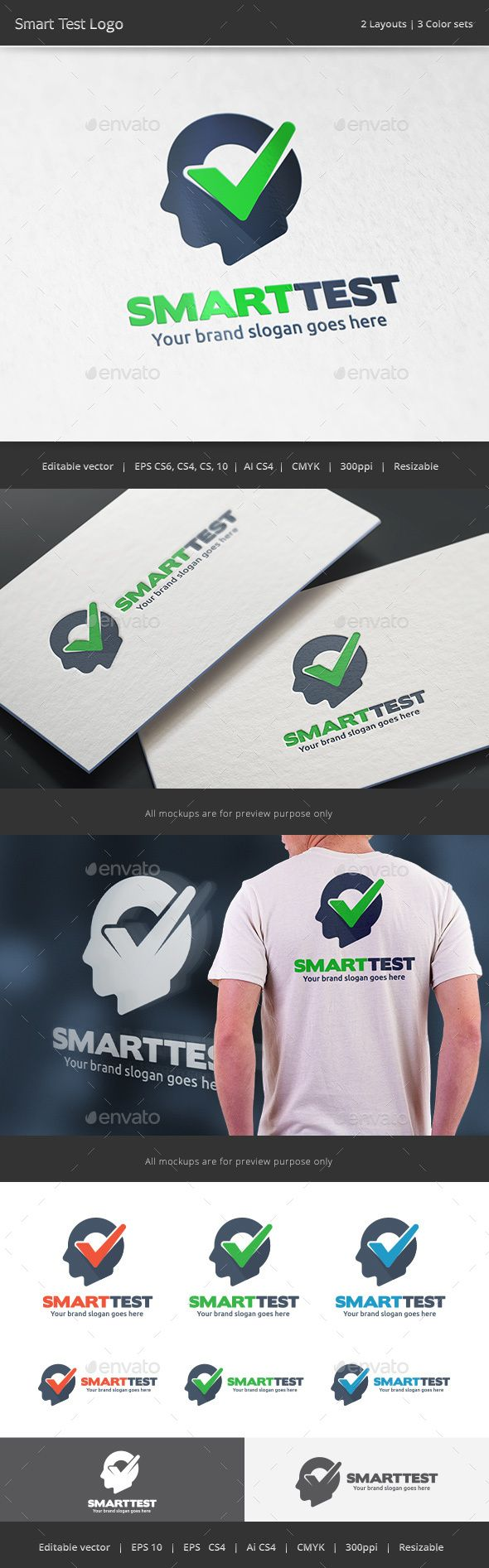 Smart Check  Logo Design Template Vector #logotype Download it here: http://graphicriver.net/item/smart-check-logo/15395939?s_rank=63?ref=nexion