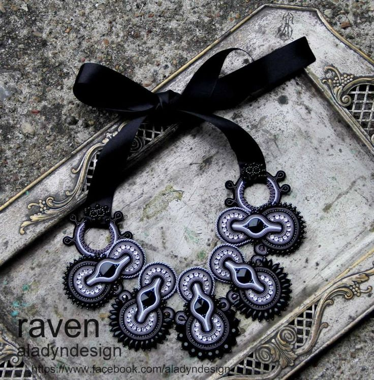 https://www.facebook.com/aladyndesign http://aladyndesign.blogspot.com/ My soutache necklace