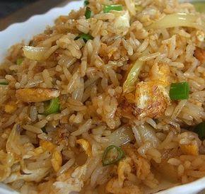 Delicious Crab Fried Rice recipe