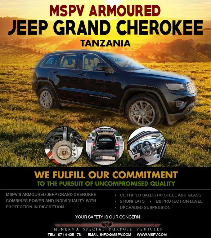 Armoured Jeep Grand Cherokee Tanzania Vehicles Armored Vehicles Jeep Grand Cherokee
