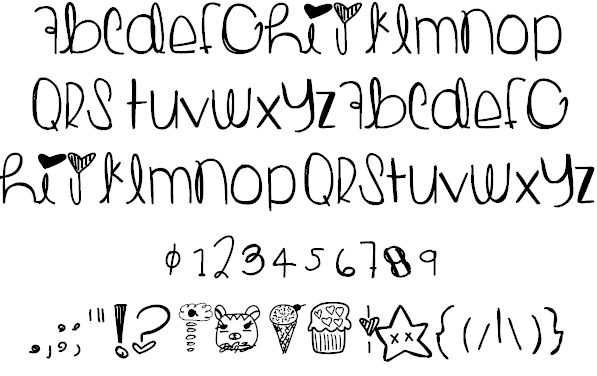 ToastEggs font by Des - FontSpace