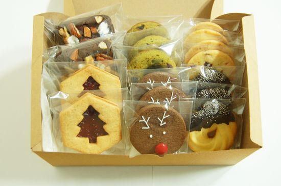 2013. christmas cookies - gift box