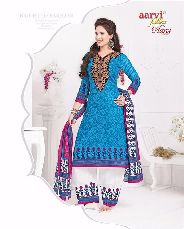 Aarvi special vol-4 cotton collections ( 21 pc catalog)
