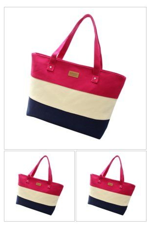 Canvas #Casual Zipper #Shoulder #Bags #fashion #style #summer #spring #bag #freeshipping https://goo.gl/Jyo27D