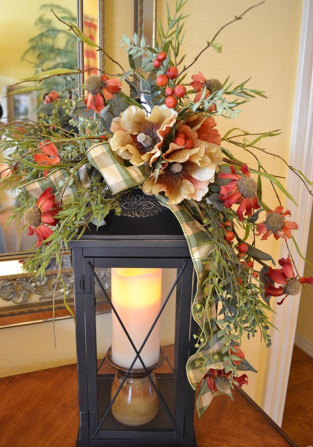 Fall Decorating Ideas On Pinterest | 50 Fall Lanterns For Outdoor And  Indoor Décor | DigsDigs