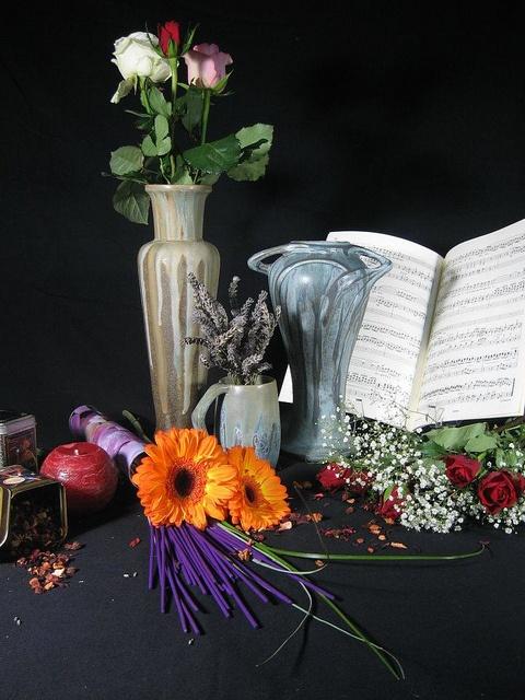 composition florale Denbac by Vierzon Tourisme, via Flickr