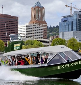 Portland Spirit Tours on The Explorer   Travel Oregon - River Tours