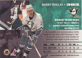 1994-95 Leaf #383 Bobby Dollas Back