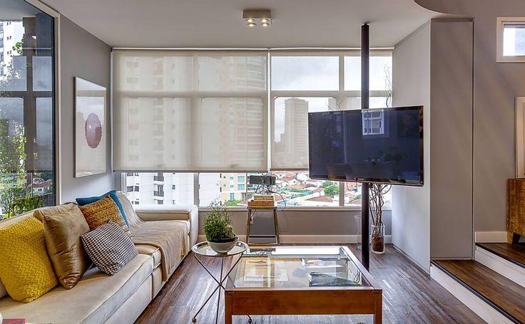 Folha de S.Paulo - Classificados - Imóveis - Apartamento duplex foi reformado para ganhar mais espaço de convivência - 31/01/2016