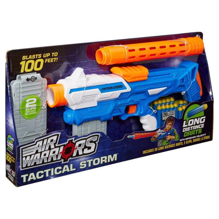 Buzz Bee Toys Air Warriors Tactical Storm