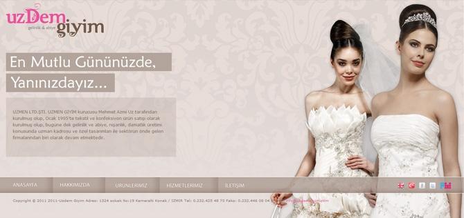 Uzdem Giyim yenilenen kurumsal web sitesi yayına alındı!    www.uzdemgiyim.com