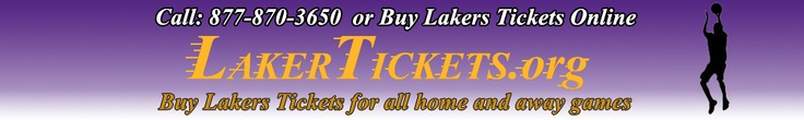 Buy LA Lakers Tickets - ALL GAMES Available http://lakertickets.org/