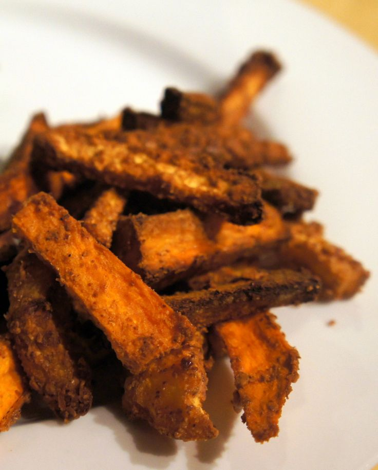 """Almond-Crusted Root Vegetable Oven """"Fries"""" (recipe testing for Ricki Heller)"""