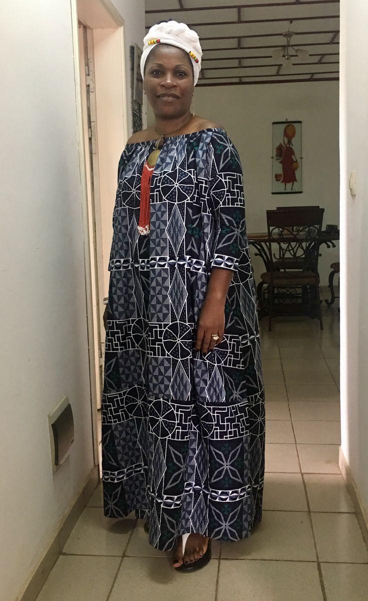 Un amour de Ndop Robe camerounaise kaba ngondo  Des