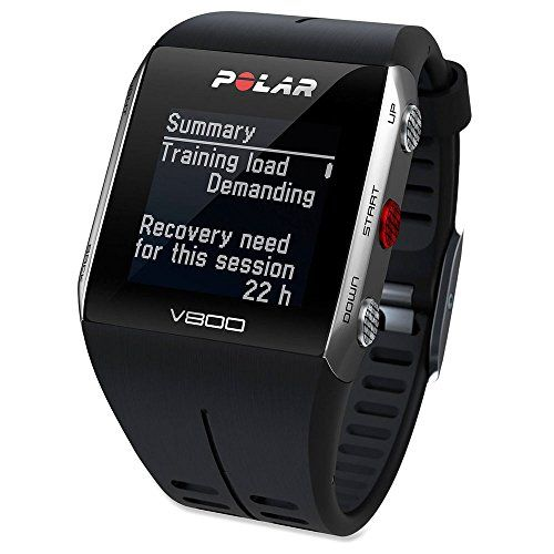 Polar M400 GPS Heart Rate Monitor Watch – One – Black | Best Electronic Fitness Gear