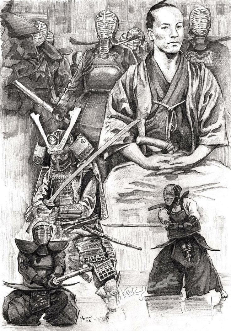 Friendica #samurai #art