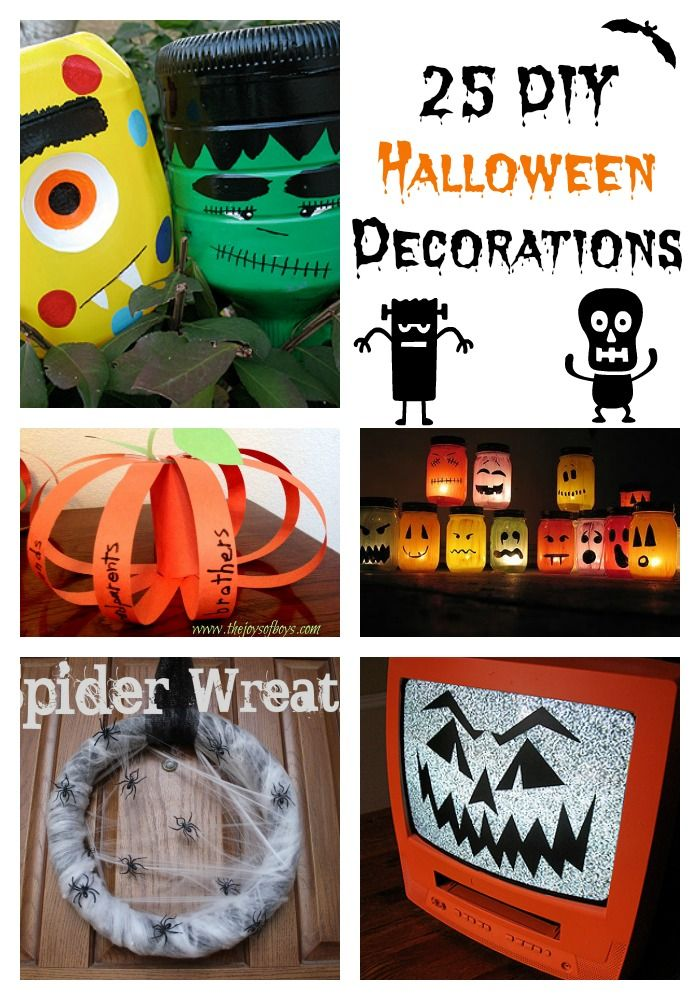 17 best images about halloween on pinterest cute for Make your own halloween decorations