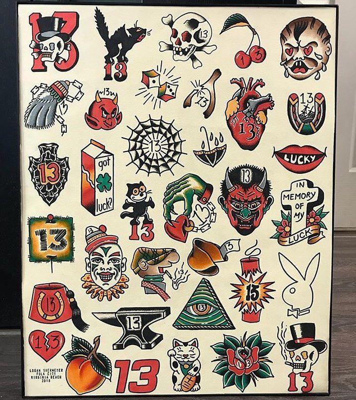 Flash By Loganshermeyerart Traditional Traditionalflash Flashtattoo Tradi Traditional Tattoo Art Traditional Tattoo Design Traditional Tattoo