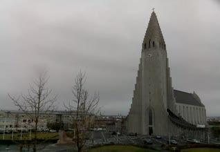 Reykjavík - Hallgrímskirkja Church