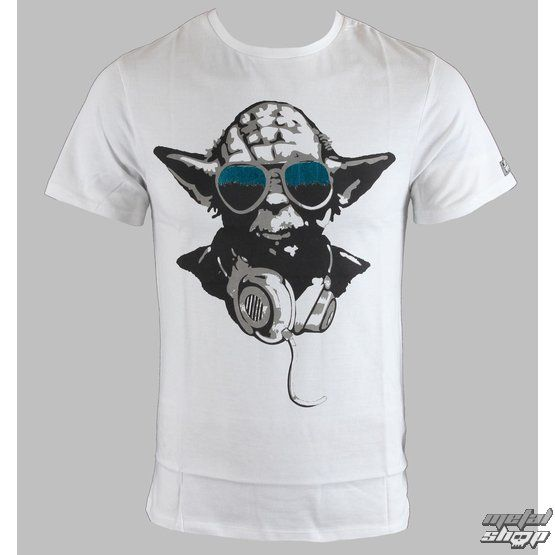 tričko pánské STAR WARS - Yoda Cool White - Blanc - LEGEND - HSTTS 1218 - metalshop.cz