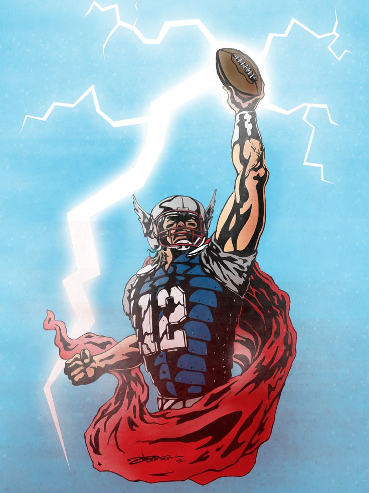 U0026quot The Mighty Brady U0026quot  Tom  Brady Meets Thor Of The Avengers