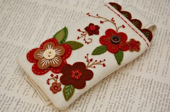 Custom iPhone Cozy by SewSweetStitches on Etsy