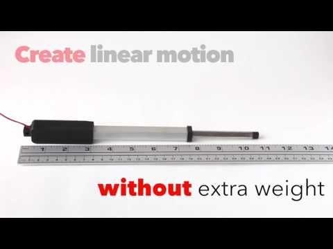 Morai Motion Inline Nexus Micro Linear Actuator 5 Inch Stroke