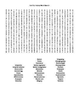 21 best images about Earth Science Word Searches for Earth Science ...
