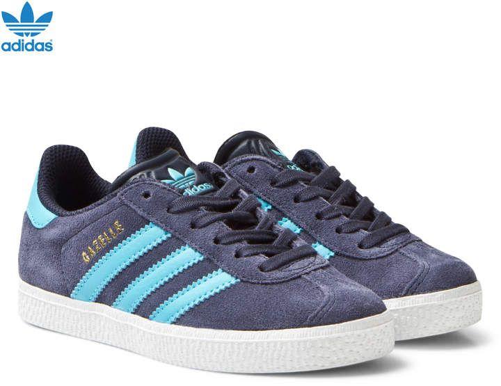 adidas Midnight Grey Kids Gazelle Trainers | AlexandAlexa | Adidas ...