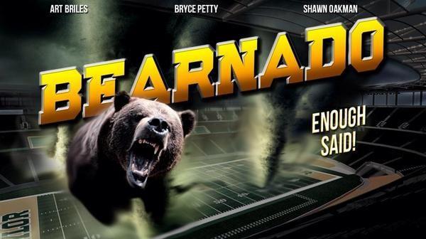 #Sharknado? Meh. We've got a #Bearnado ready to tear up the Big 12. #SicEm