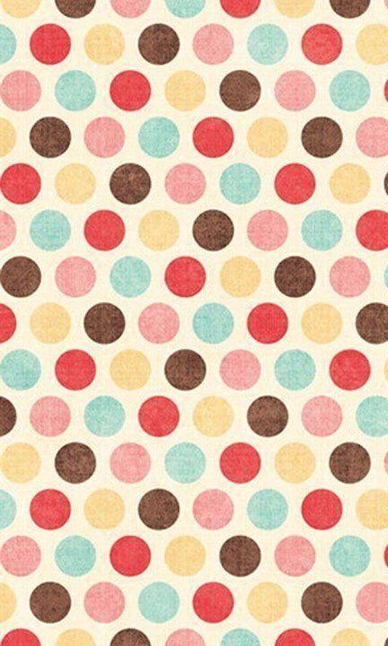 Polka dot pattern / print