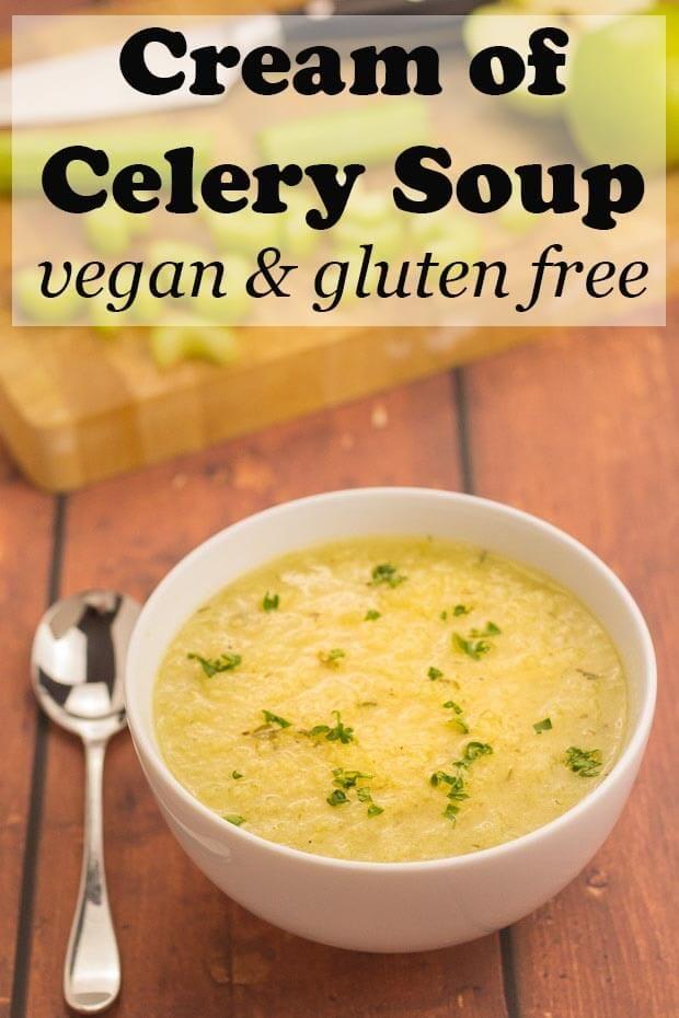 Cream Of Celery Soup Recipe Cream Of Celery Soup Celery Soup Celery Recipes