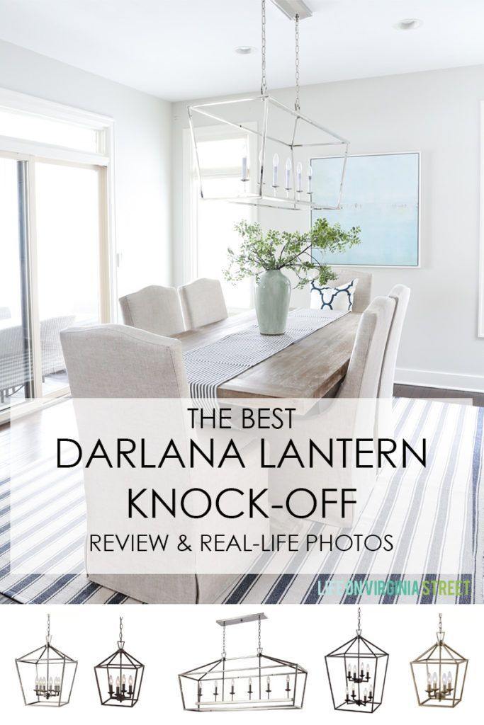 Review Of The Best Knock Off Darlana Pendant Lights With Images
