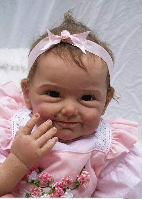 NPKDOLL Reborn Baby Doll Soft Silicone <b>22inch 55cm</b> Magnetic ...