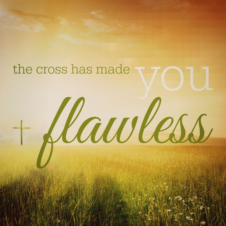 Lifer Mercyme: The Cross Has Made You Flawless