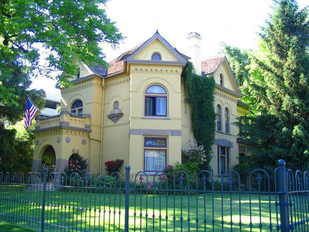 Historic homes in Utah County