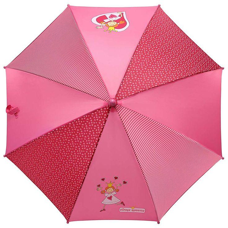 regenschirm rosa für mädchen mit pinky queeny