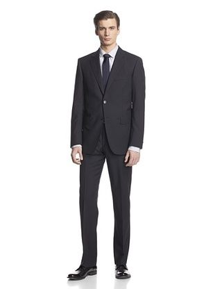 -26,900% OFF Cerruti 1881 Men's Drop 7 Classic Fit Suit (Navy Stripe)