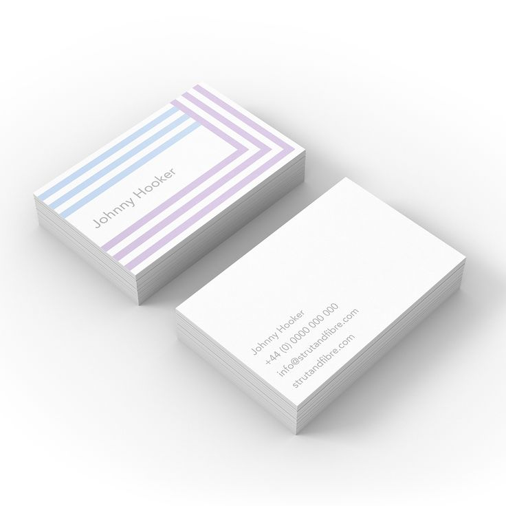 Hooker – one of our Graphic business card templates available to customise and order on our site.